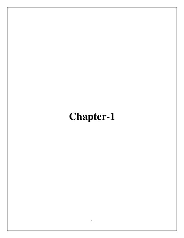 1 Chapter-1