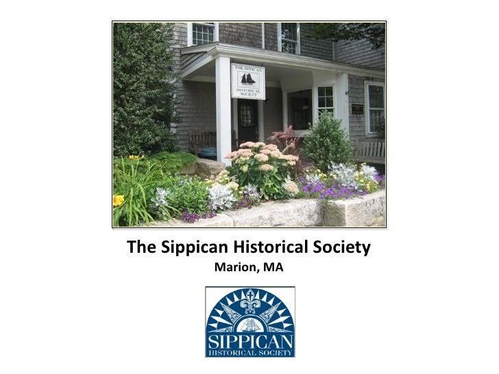 Sippican Hotel Exhibit