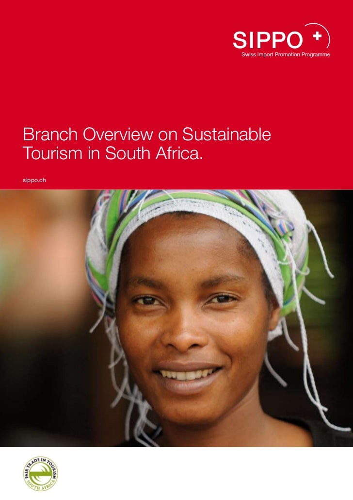 Branch Overview on SustainableTourism in South Africa.sippo.ch