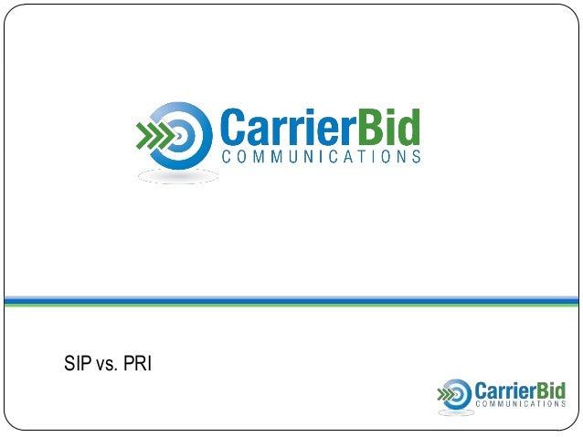 SIP vs PRI