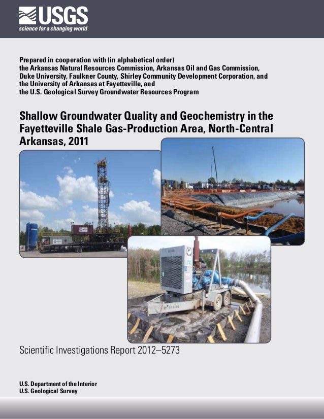 Prepared in cooperation with (in alphabetical order)the Arkansas Natural Resources Commission, Arkansas Oil and Gas Commis...