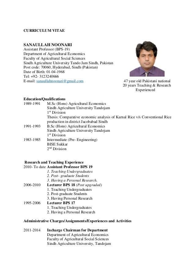 curriculum vitae pdf: curriculum vitae pdf