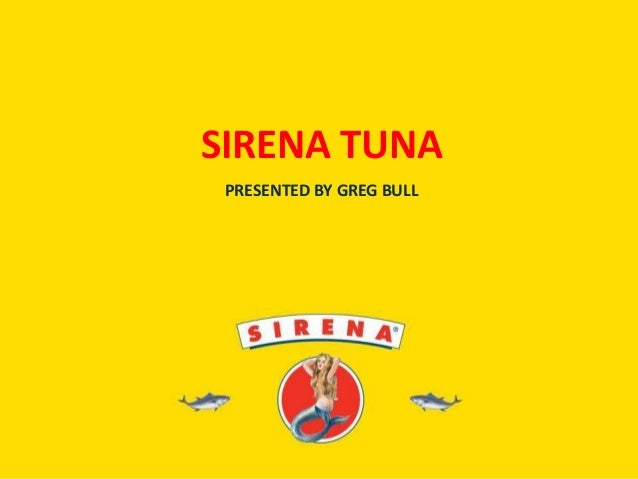 Sirene tuna english