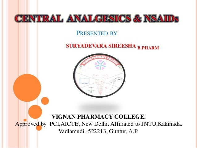 PRESENTED BY SURYADEVARA SIREESHA B.PHARM . VIGNAN PHARMACY COLLEGE. Approved by PCI,AICTE, New Delhi. Affiliated to JNTU,...