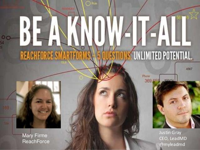 SiriusDecisions Summit 2013 Persona Nurture Case Study Presentation
