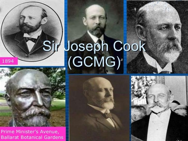 Sir Joseph Cook (GCMG) 1894 Prime Minister's Avenue, Ballarat Botanical Gardens