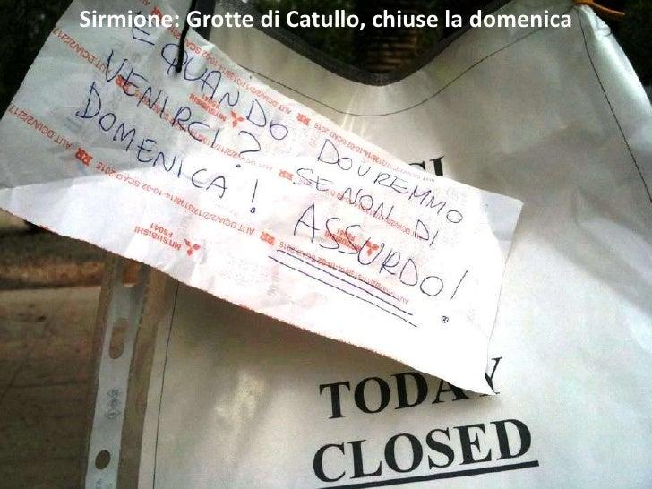 Sirmione grotte di catullo chiuse la domenica