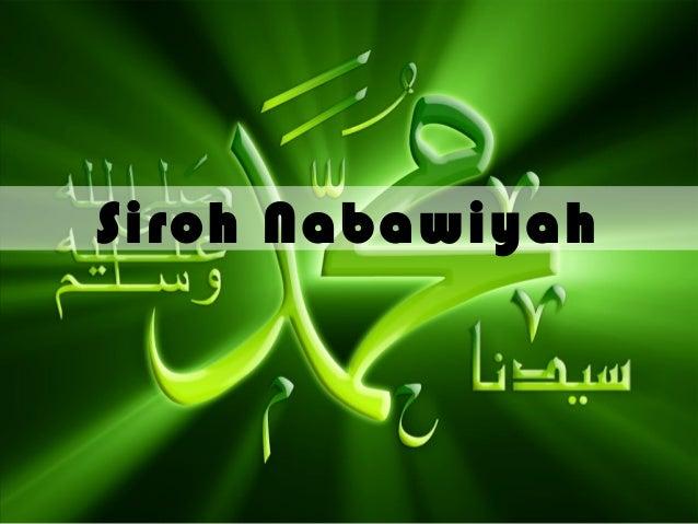 Siroh Nabawiyah