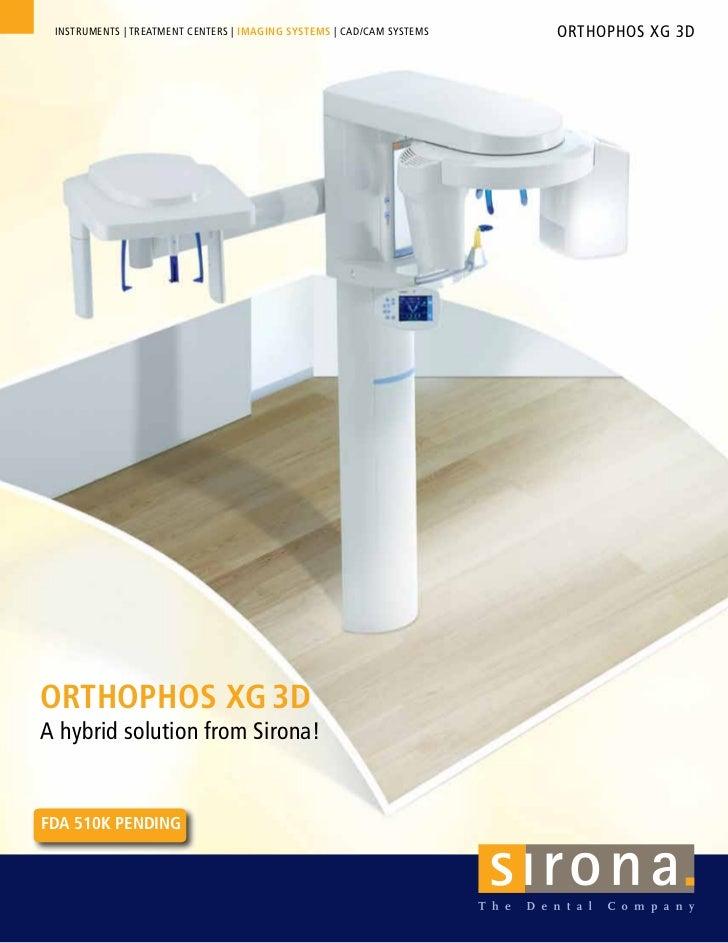 Sirona  Orthophos X 3 G