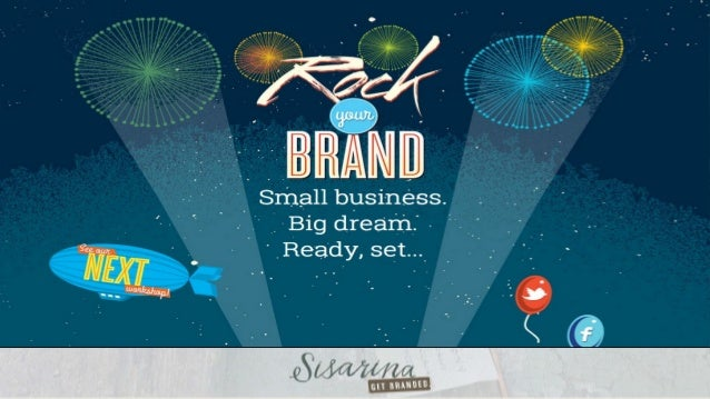 We'll be tweeting: @Sisarina #rockyourbrand http://rockyourbrand.co