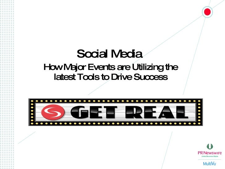 Social Media   How Major Events are Utilizing the latest Tools to Drive Success