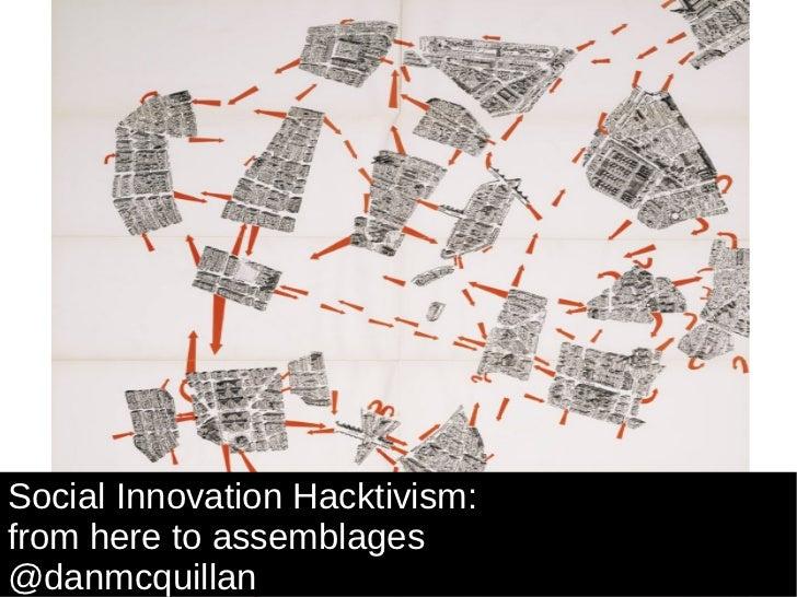 Social Innovation Hacktivism