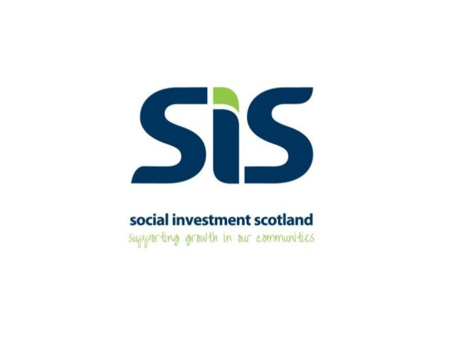 Who we are• We are the largest Community Development Finance Institution in Scotland andone of the largest in the UK, hold...
