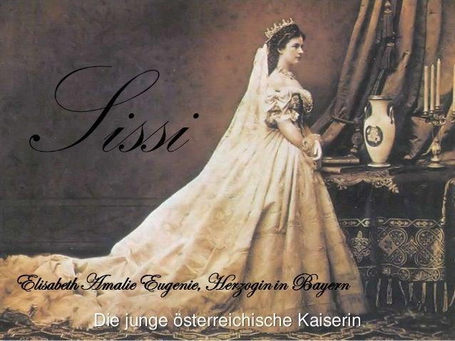 Die junge österreichische Kaiserin