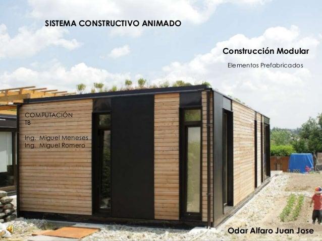Sistema constructivo animado construcci n modular for Construccion modular prefabricada