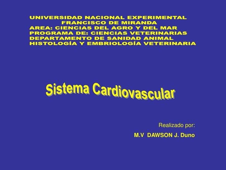 Sist cardiovascular