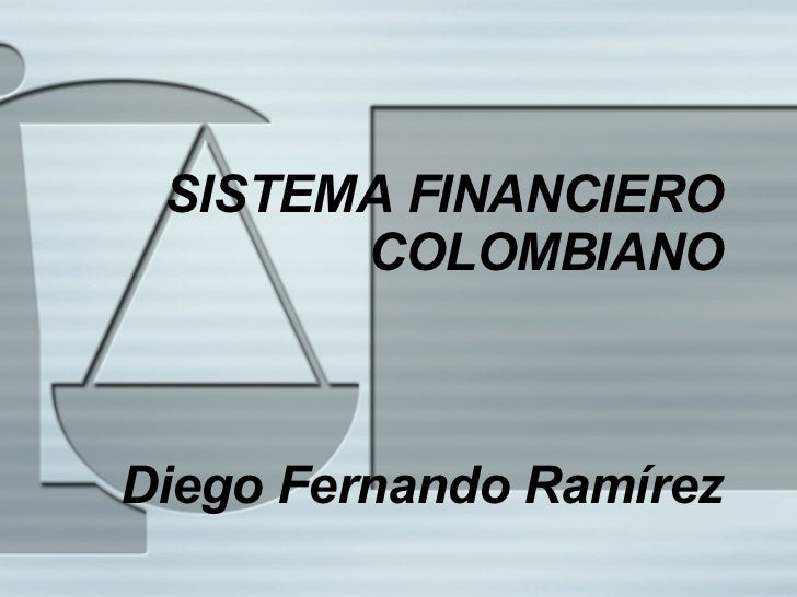 Sistema Financiero Colombiano Ice 1 2008