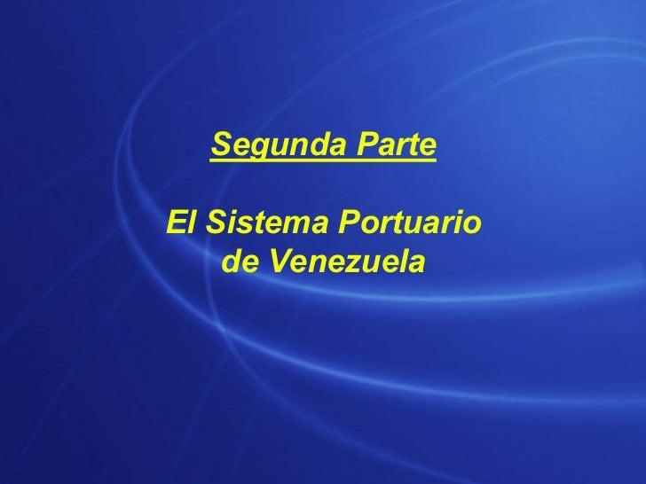 Sistema Portuario de Venezuela