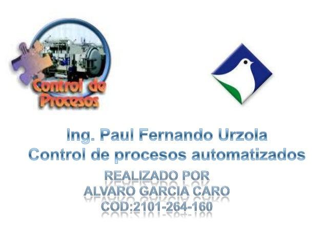  SCADA (Supervisory Control And Data Acquisition), que traducido al español significa (Supervisión, Control y Adquisición...