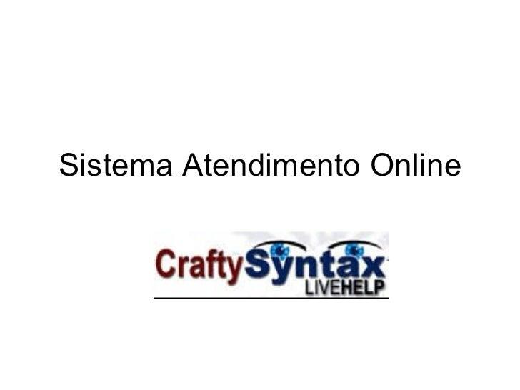 Sistema Atendimento Online