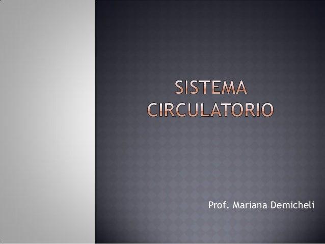 Prof. Mariana Demicheli