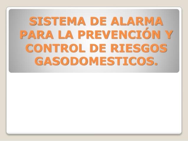 Sistema de alarma - Sistemas de alarma ...