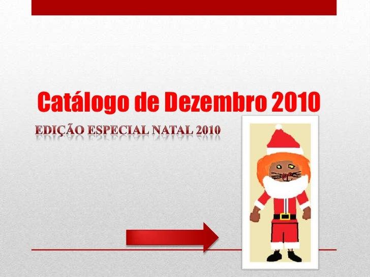 Catálogo de Dezembro 2010