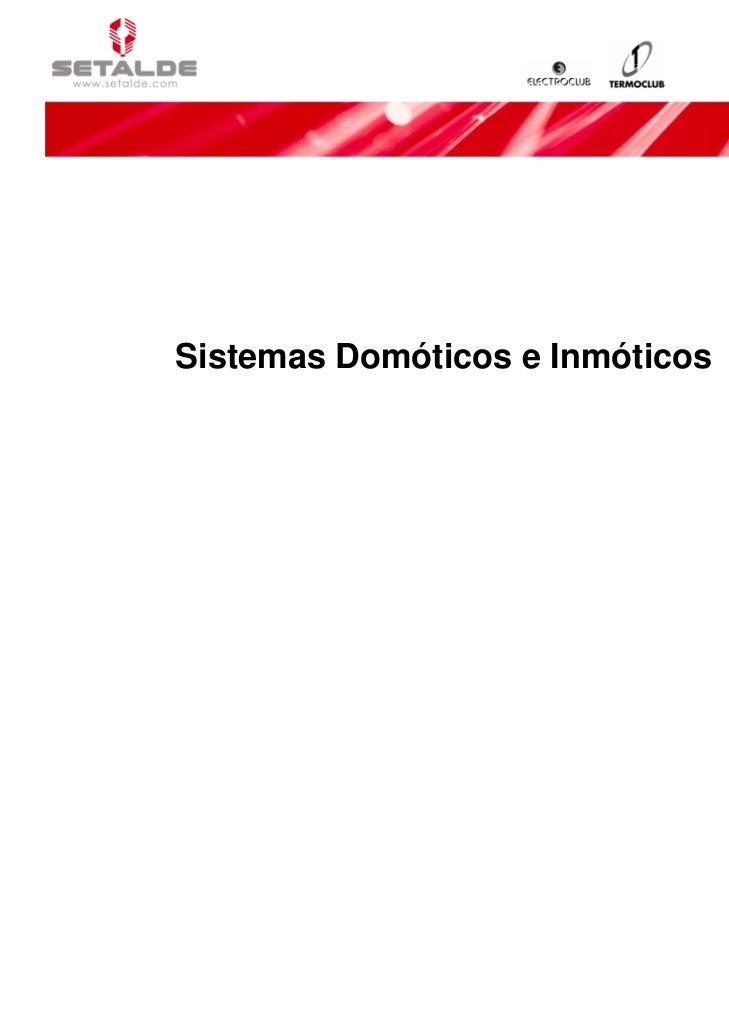 Sistemas Domóticos e Inmóticos