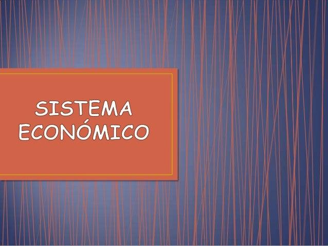 Sistema economico (economia)