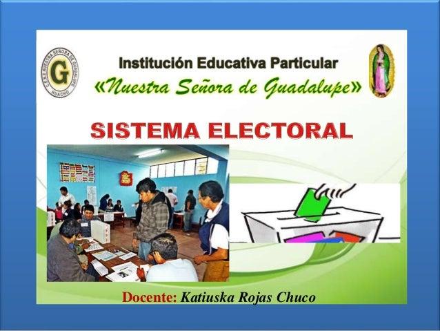 sistema electoral salvador