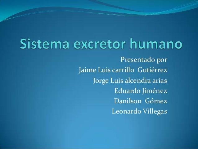 Presentado por Jaime Luis carrillo Gutiérrez Jorge Luis alcendra arias Eduardo Jiménez Danilson Gómez Leonardo Villegas