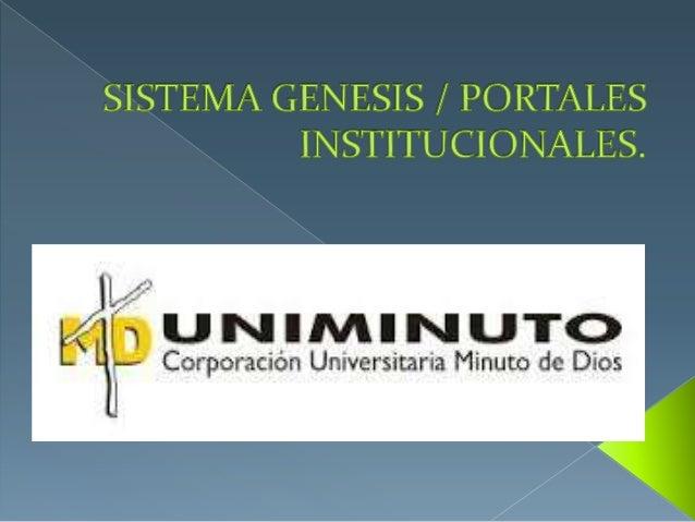  El sistema universitario UNIMINUTO inspirado en el evangelio, la espiritualidad eduista y la obra minuto de Dios, agrupa...