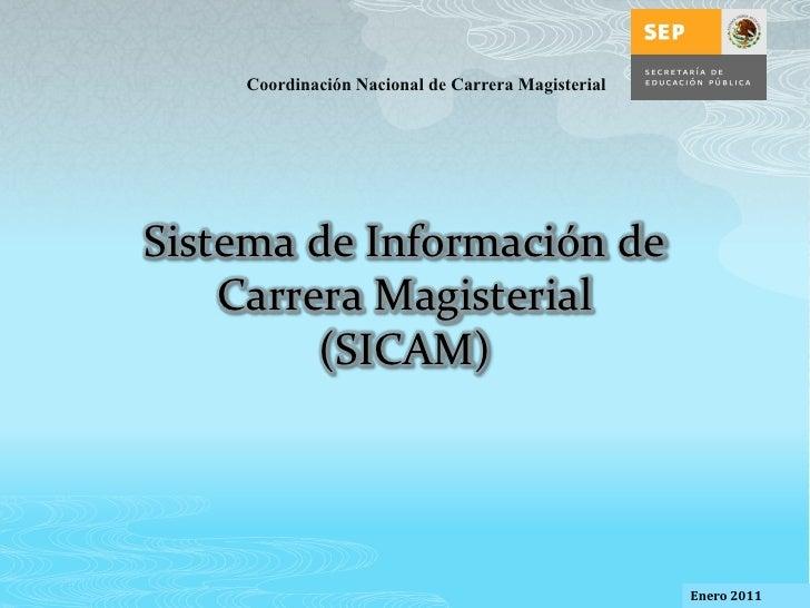 Sistema informacion carrera magisterial