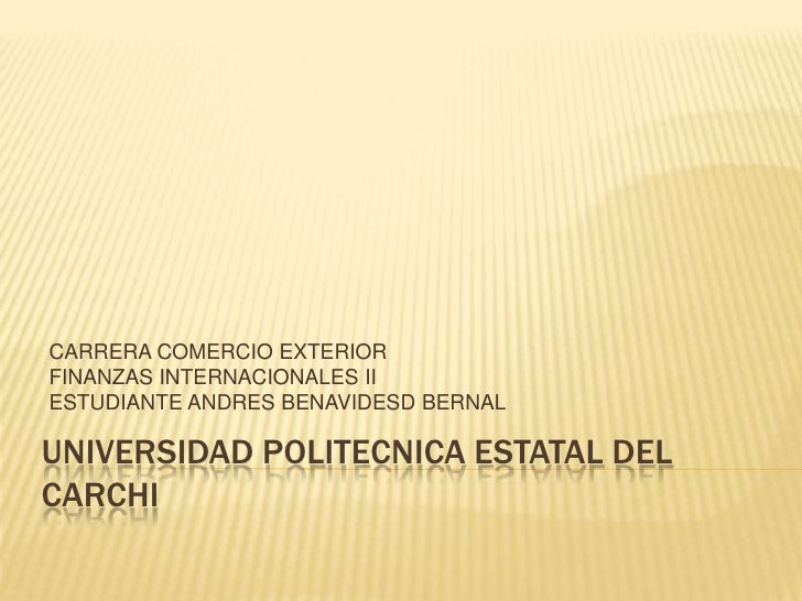 Sistema internacional monetario