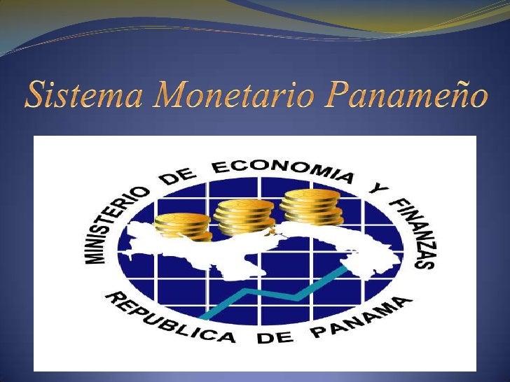 Sistema monetario panameño