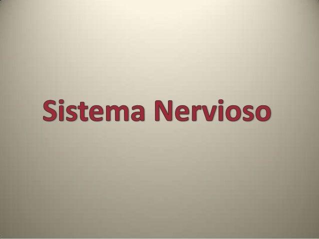 Propiedades Generales del Sistema Nervioso • El sistema nervioso está formado por el tejido nervioso. • Su principal funci...
