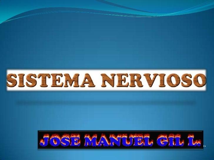 Profesor: José Manuel Gil L.<br />