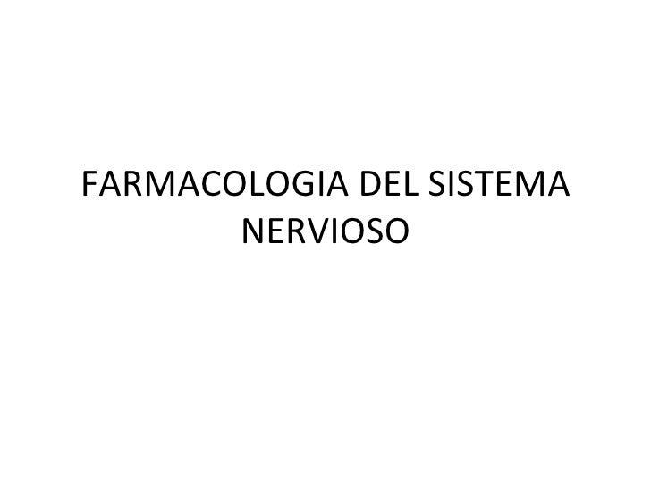 Sistema nervioso neurotransmisores