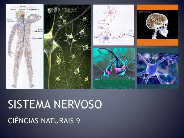 SISTEMA NERVOSO<br />CIÊNCIAS NATURAIS 9<br />