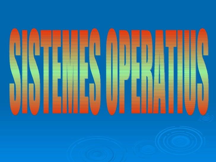 Sistema operatiu