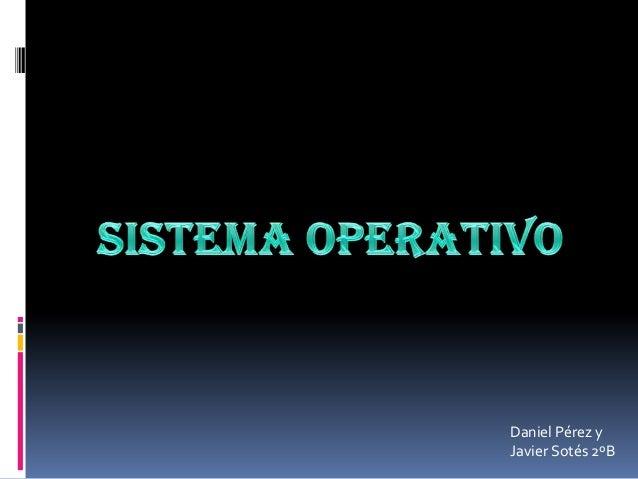 Sistemaoperativo tic