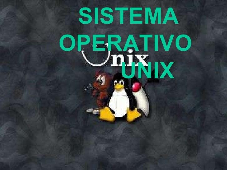 Sistema operativo unix completo
