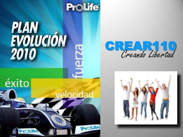 CREAR110<br />Creando Libertad<br />