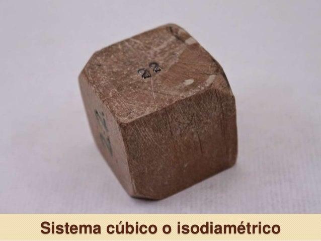 Sistema cúbico o isodiamétrico