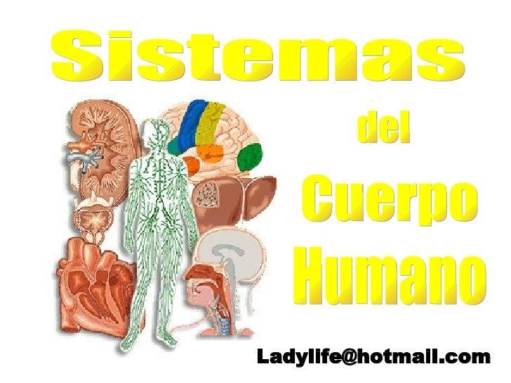 Sistemas del Cuerpo Humano [email_address]
