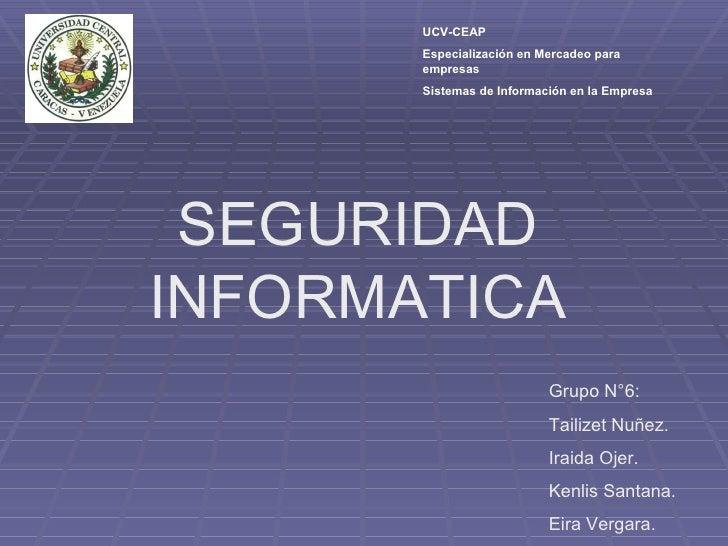 Sistemas De Informacion Seguridad En La Red