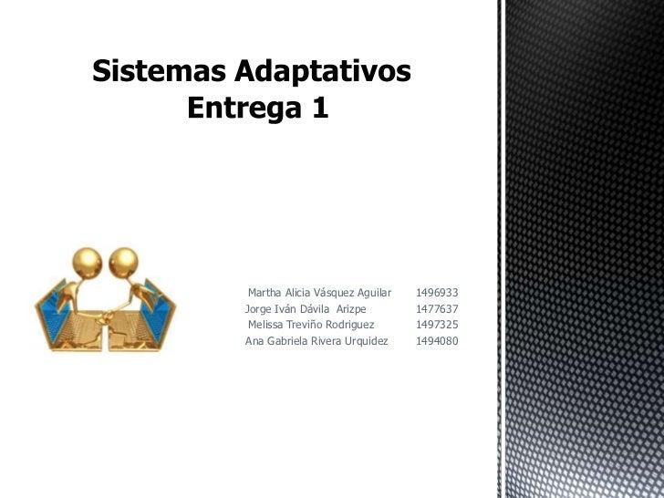 Martha Alicia Vásquez Aguilar   1496933Jorge Iván Dávila Arizpe         1477637 Melissa Treviño Rodriguez       1497325Ana...