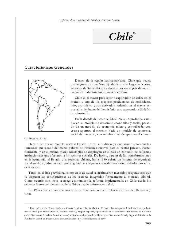Reforma de los sistemas de salud en América Latina                                                                        ...
