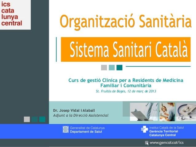 Sistema Sanitari Català