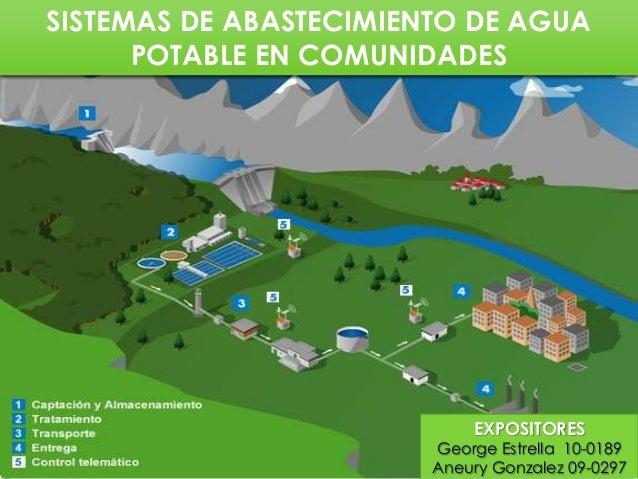 Sistemas convencionales de abastecimiento de agua